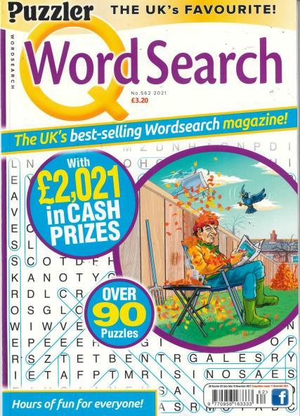 Q Word Search magazine