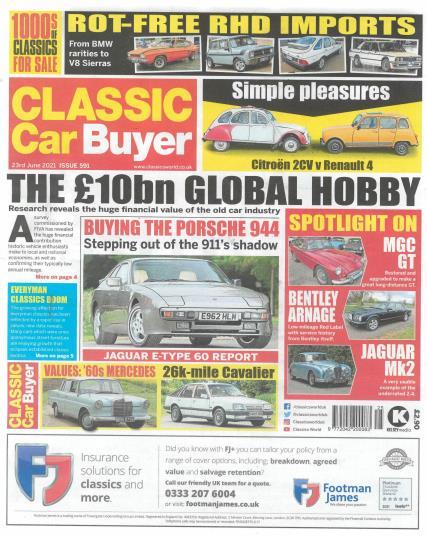 Classic Car Buyer magazine