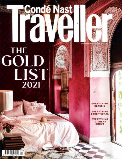 Conde Nast Traveller magazine