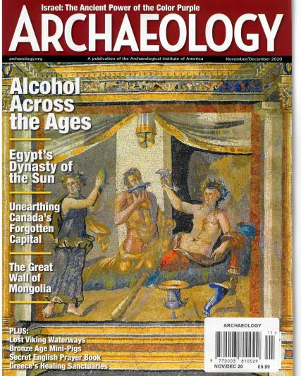 Archaeology magazine