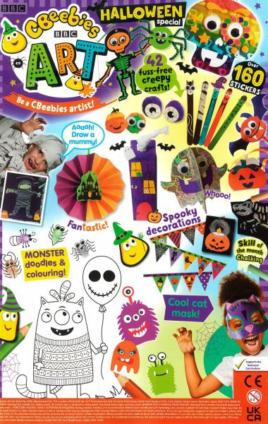 CBeebies Art magazine