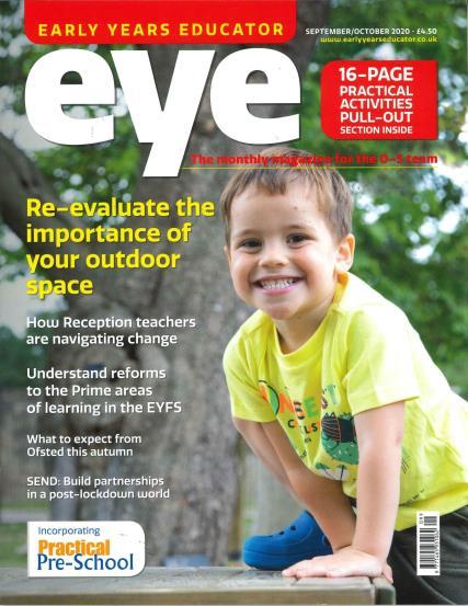 Early Years Educator magazine