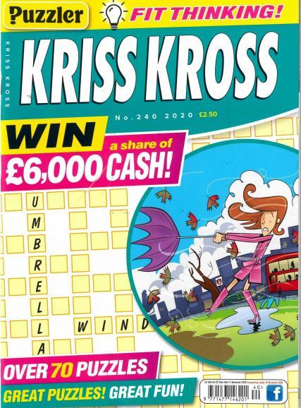 Puzzler Kriss Kross magazine