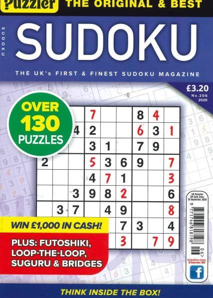 Puzzler Sudoku magazine