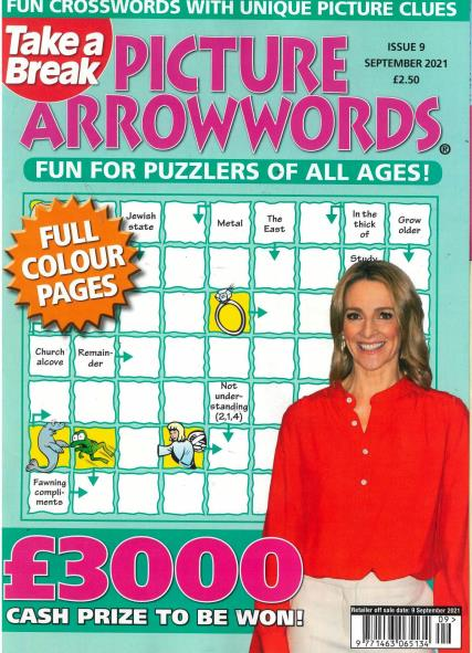 Take a Break's Picture Arrowwords magazine