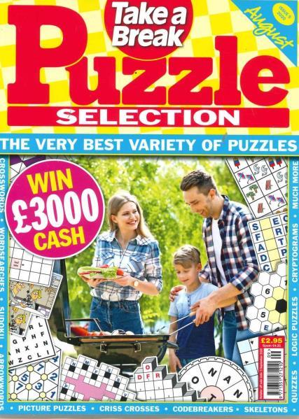 Take a Break Puzzle magazine