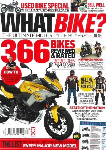 What Bike magazine