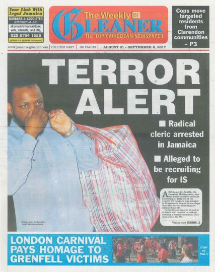 The Weekly Gleaner magazine