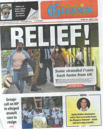 The Weekly Gleaner magazine