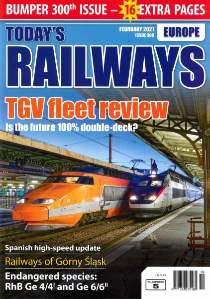 Today's Railways Europe magazine
