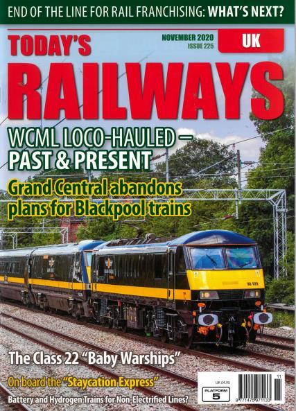 Today's Railways UK magazine