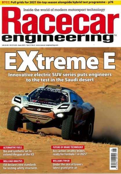 Racecar Engineering magazine