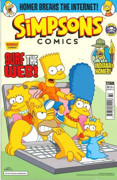 Simpsons Comics magazine
