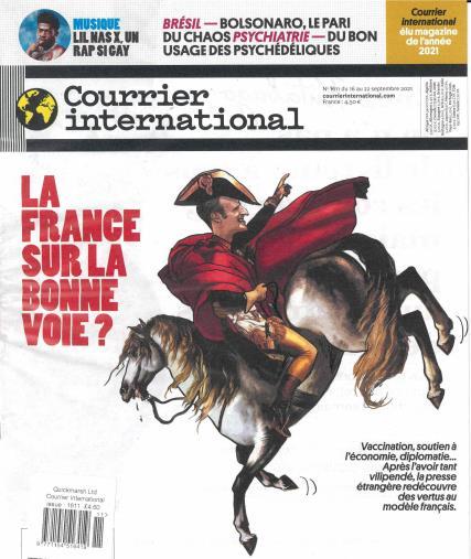 Courrier International magazine