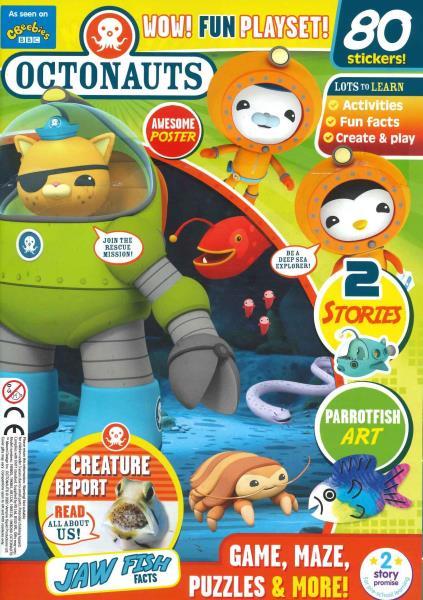 Octonauts magazine