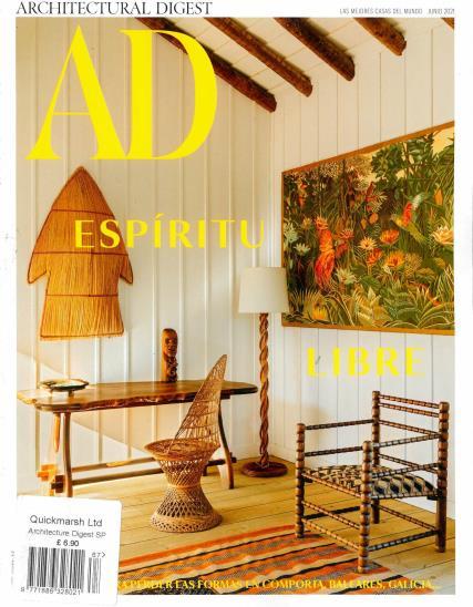 Architectural Digest Spanish magazine