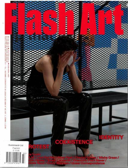 Flash Art magazine