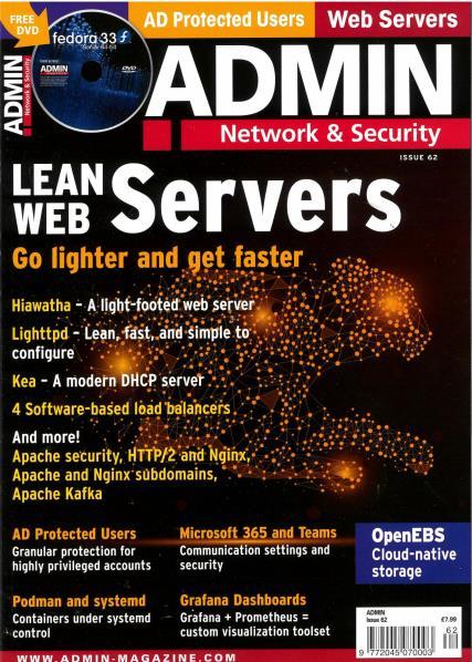 Admin magazine