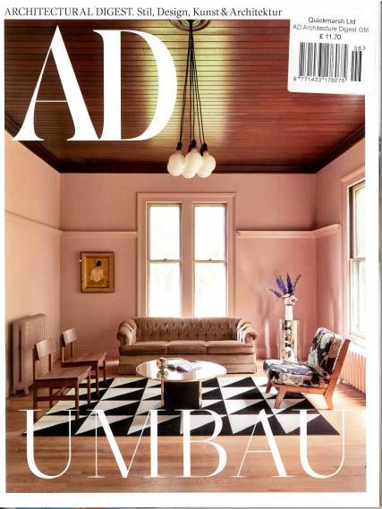 Architectural Digest German magazine