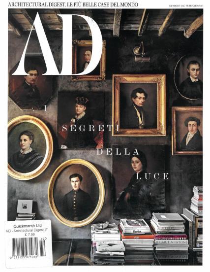 Architectural Digest Italian magazine