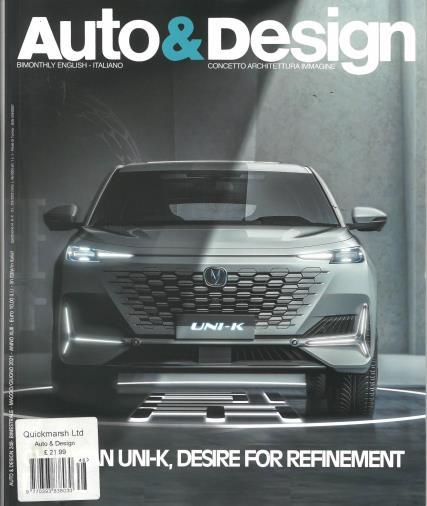 Auto & Design magazine
