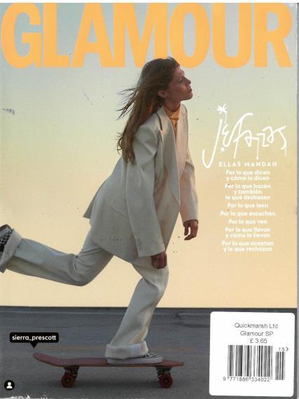 Glamour Spanish magazine
