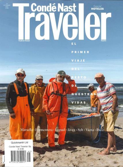 Conde Nast Traveller Spanish magazine