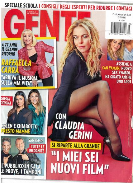 Gente magazine