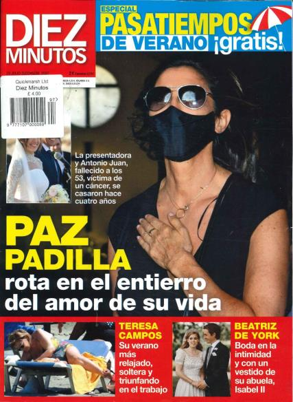 Diez Minutos magazine