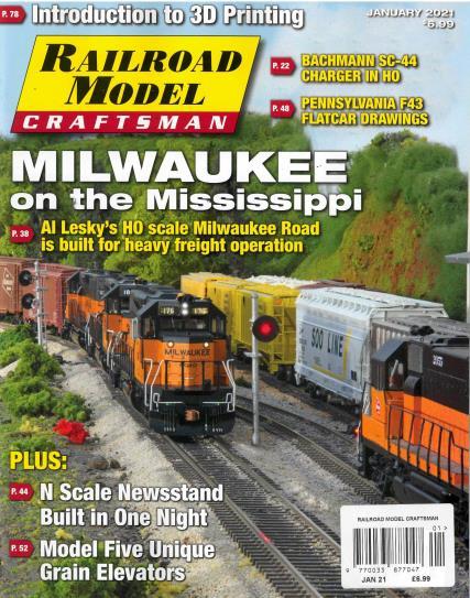 Railroad Model Craftsman magazine