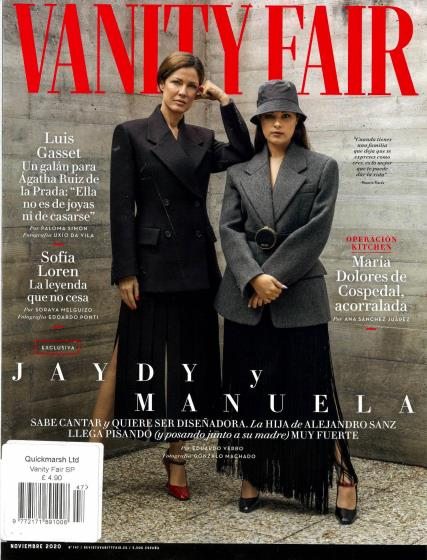 Vanity Fair Spanish magazine