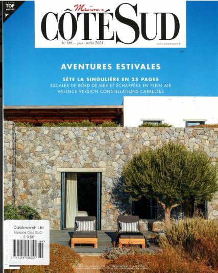 Maison Cote Sud magazine
