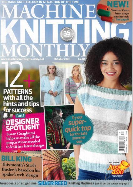 Machine Knitting Monthly magazine