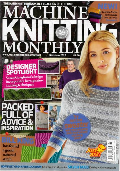 Machine Knitting Monthly magazine