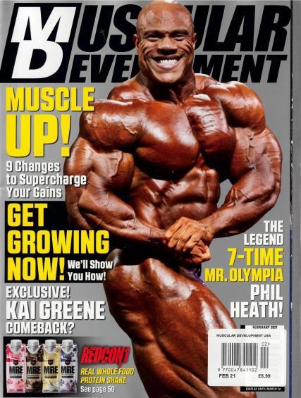 Muscular Development USA magazine