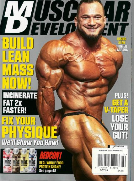 Muscular Development USA magazine