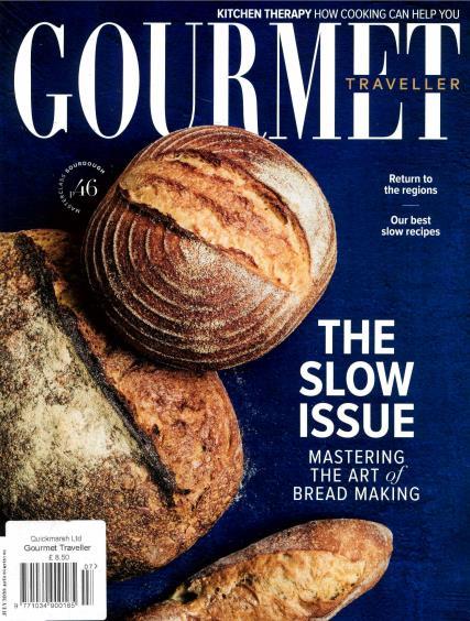 Australian Gourmet Traveller magazine