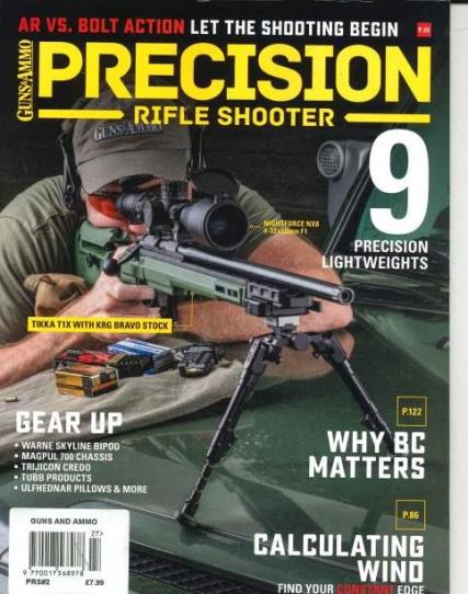 Guns and Ammo magazine