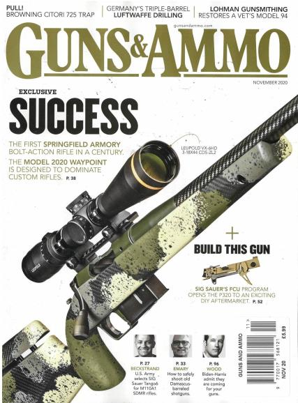 Guns and Ammo magazine