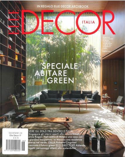 Elle Decor Italian magazine