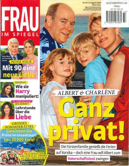 Frau Im Spiegel magazine