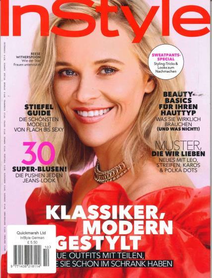 InStyle German magazine