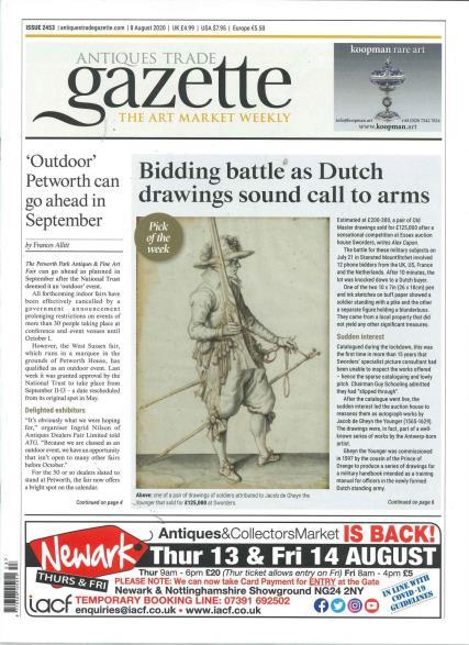 Antique Trade Gazette magazine