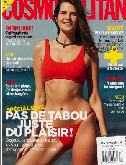 Cosmopolitan French magazine