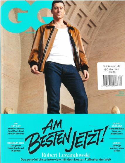 GQ German magazine