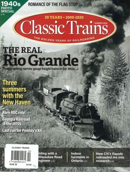 Classic Trains magazine