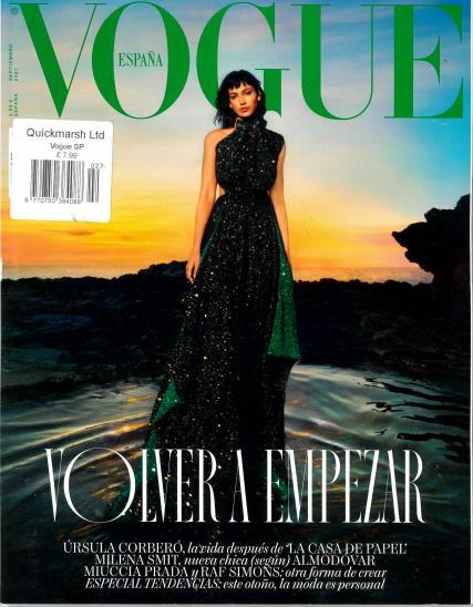 Vogue Spanish magazine