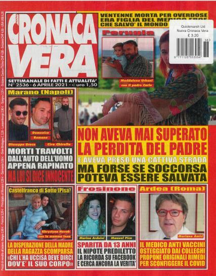 Nuova Cronaca Vera Weekly magazine
