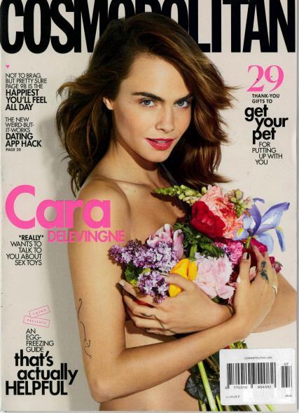 Cosmopolitan USA magazine