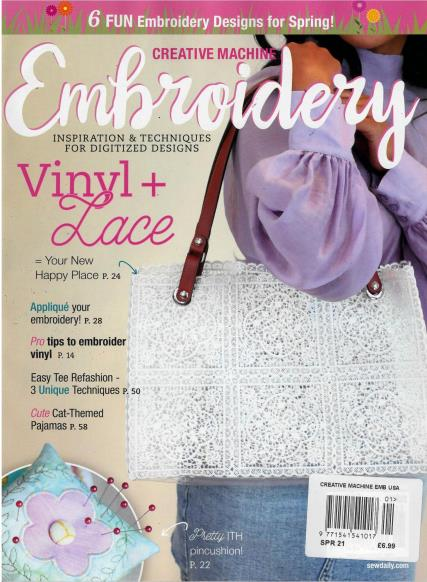 Creative Machine Embroidery magazine
